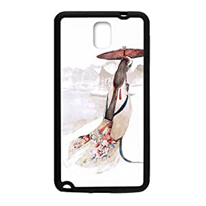 Tender girl lovely phone case for samsung galaxy note3