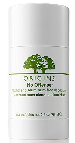 Origins No offense Alchohol and Aliminiun free deodarant 2.5fl.oz/75ml (75 Ml Alcohol)