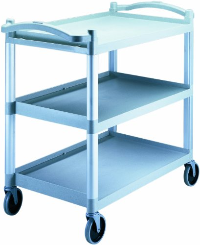 Cambro BC340KD480 Speckled Gray 3 Shelf Knockdown Utility