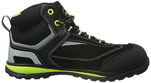 Gevavi GS38 FALCON WERKS S1P HG - Zapatos De Seguridad de piel Unisex adulto negro - Schwarz (Schwarz(Zwart) 00)