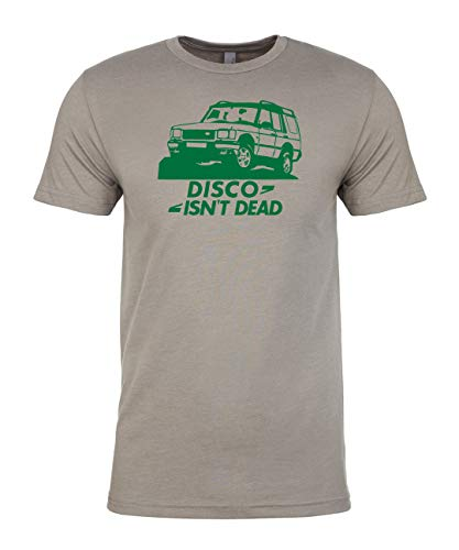 Luso Disco Isn't Dead T-Shirt & Sticker, Land Rover Discovery 4x4 Offroad