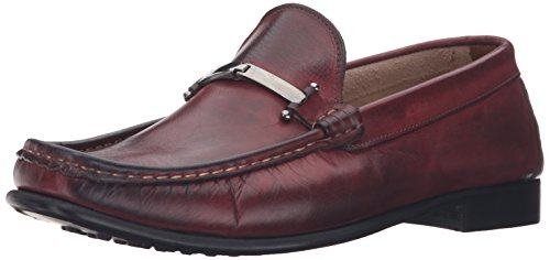 Kenneth Cole New York Mens Zon I Alternativ Ett Slip-on Loafer Bordeaux