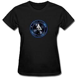 CHENGXINGDA Women's Delta Force Video Game Logo Short Sleeve T-Shirt M