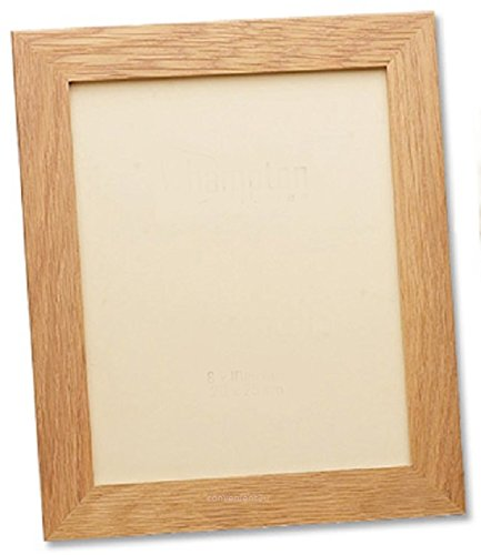 8aa44d4d9ff Photo Frame Picture Frame Poster Frame in Oak Wood Wooden Effect (10x8 Inch)   Amazon.co.uk  Kitchen   Home