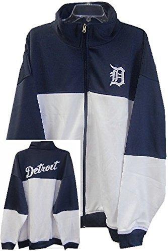 pretty nice 04796 a6c50 Majestic Detroit Tigers MLB 2-Tone Track Jacket Men's Big & Tall Sizes
