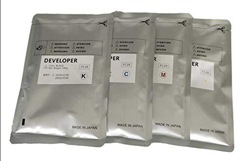Printer Parts 4 Color Compatible Developer for Toshiba 3530C 2330C 2820C 2830C 3520C 4520C DFC-28 Developer