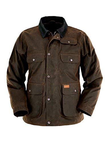 (Outback Trading Men's Overlander Jacket - Bronze (LG))
