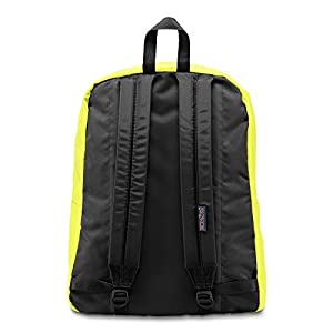 JanSport SuperBreak Backpack (Neon Yellow)