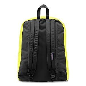 JanSport SuperBreak Backpack (Neon Yellow)