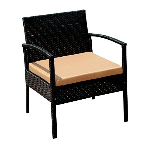 patio furniture set clearance dining set 4 piece balcony outdoor garden rattan furniture set. Black Bedroom Furniture Sets. Home Design Ideas