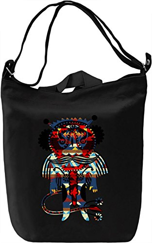 Native Spirit Borsa Giornaliera Canvas Canvas Day Bag| 100% Premium Cotton Canvas| DTG Printing|