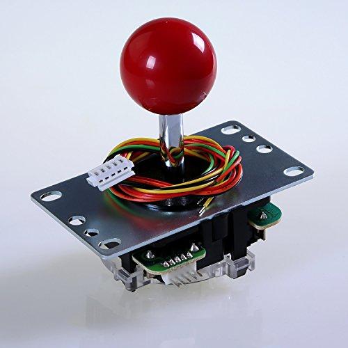 SANWA JLF-TP-8YT-SK OEM Red Ball Top Handle