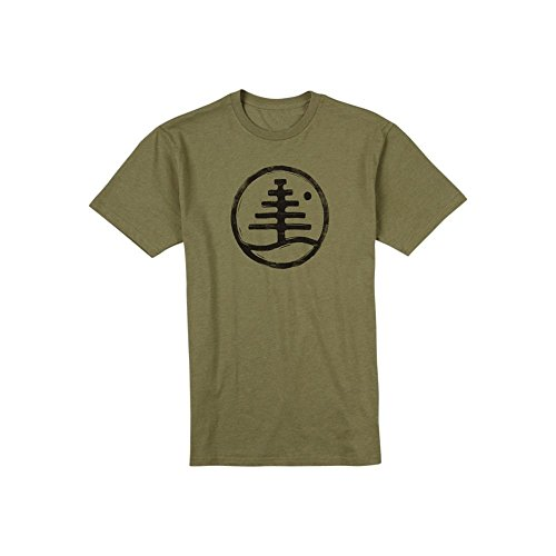 burton-mens-family-tree-recycled-tee-olive-heather-medium