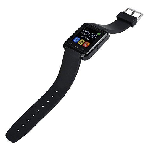 yinosino U80 Smart Watch (Soporte italiano)/reloj Bluetooth/reloj Android/reloj de la salud con Touch Screen y cámara, Standby de larga duración, para ...