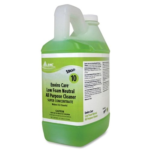 Wholesale CASE of 2 - Rochester Midland Low Foam All Purpose Cleaner -Neurtral All-Purpose, Low Foam, Non-Toxic, 1/2Gal, Dk GN by RCM