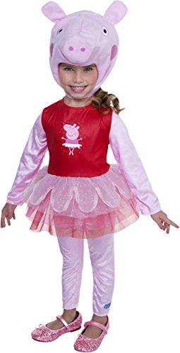 Peppa Pig Ballerina Costume, -
