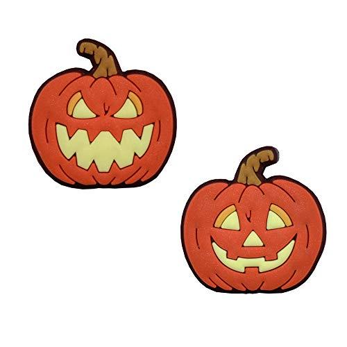 Racket Expressions Halloween Pumpkin Tennis Dampeners (2-Pack)]()