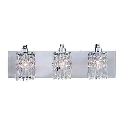 Elk 11230/3 Optix 3-Light Vanity In Polished Chrome
