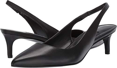 West Black Leather Slingback Pumps - Nine West Womens Feliks Pump Black 9 M