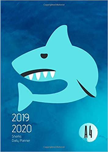 Sharks Schedule 2020 2019 2020 Back To School Planner With Hours Sea Sharks Goals A4