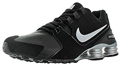 Nike Mens Shox Avenue LTR, Black / Metallic Silver, 8.5 M US