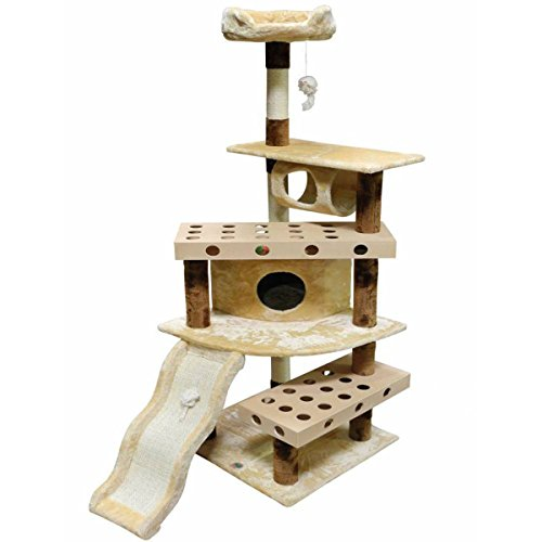 GoPetClub IQ Busy Box 70-inch Cat Tree