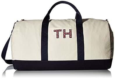 Tommy Hilfiger - Bolsa de Viaje Mujer Beige Blanco Roto