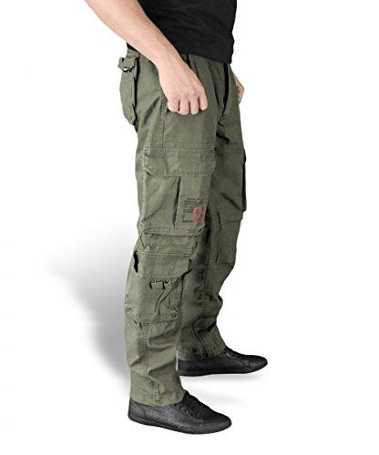 Surplus Airborne Vintage Slimmy Trousers, oliv, Größe XL