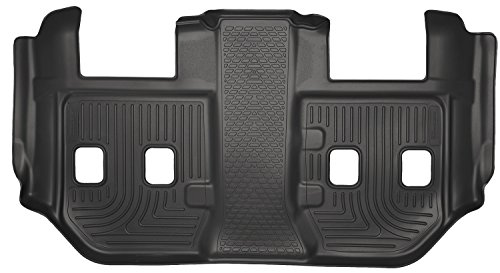 Husky Liners 3rd Seat Floor Liner Fits 15-18 Suburban - 2nd Row Bucket Seat -