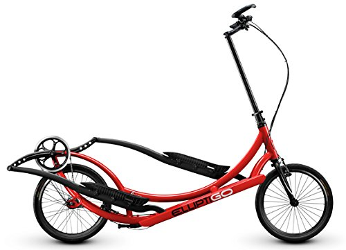 ElliptiGO 8C - The World's First Outdoor Elliptical Bike (Red)