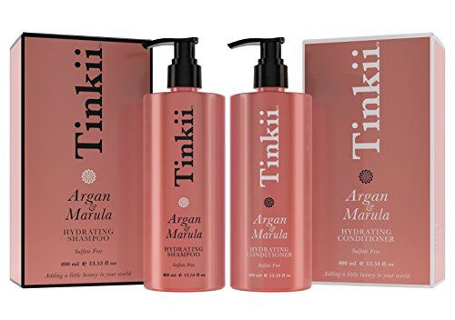 Tinkii organic argan maurla oil hydrating shampoo and for Salon quality shampoo
