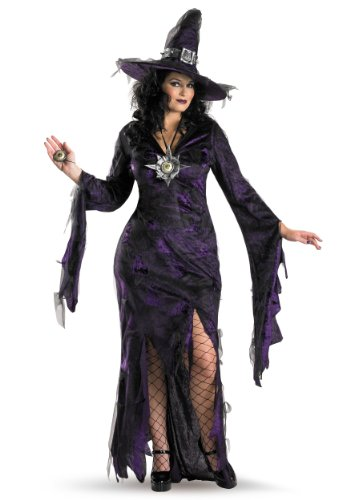 [Sorceress Costume - XX-Large - Dress Size 22-24] (Sexy Witch Costumes Plus Size)