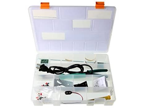 Velleman EDU03U Start To Solder Educational Kit (Usa Version): Precision Measurement Products: Amazon.com: Industrial & Scientific