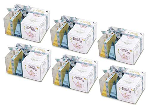 English Tea Shop White Tea Collection in Gift Box - 6 x 12 Silken ...