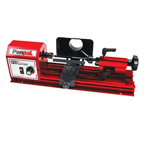 Buy PSI Woodworking PENPAL Portable 15-Pound Mini Penmaking Lathe