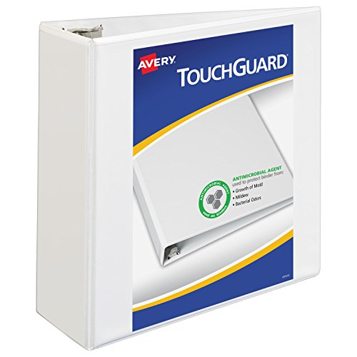 Avery TouchGuard Protection Heavy Duty View Binders, 4