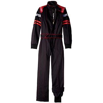 Black//Purple, XX-Large RaceQuip Unisex-Child Kids Single Layer Suit