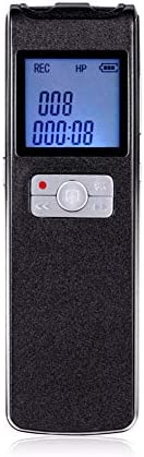 8GB/16GB Digital Voice Recorder,built in 1500mAh battery for