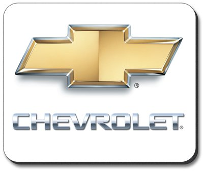 Chevrolet Logo Mouse Pad - by Art Plates