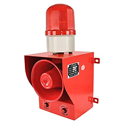 new brand YS-05B AC110V-120V Sound volume adjustable sounds and lights alarms Alarm for emergenc