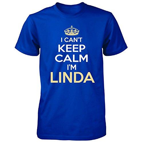I Cant Keep Calm I'm Linda Funny Gift - Unisex Tshirt
