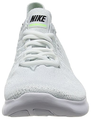 Flyknit Men's White White Running pure RN Free 2017 Platinum Shoe Nike dtwqB0t