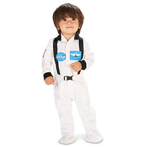 [White Astronaut Infant Costume 12-18M] (Spaceman Suit Costume)