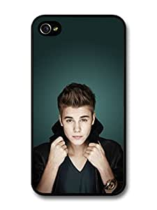 Justin Bieber Posing Collar Car Beliebers JB Popstar For Apple Iphone 5/5S Case Cover