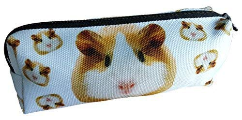 Guinea Pig Print Pencil Pouch Case by Pashal - All Proceeds to Guinea Pig Rescue