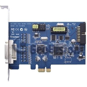 GeoVision GV-800 Video Capture Card - Functions: Video Capturing, Video Recording - PCI Express - 720 x 576 - NTSC, PAL - YesRetail - Plug-in Card - GV800-4