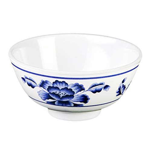 Lotus melamine dinnerware collection 12 oz, 4 7/8