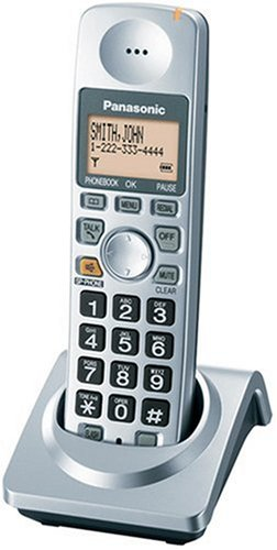 amazon com panasonic kx tga101s extra handset with charger for kx rh amazon com Panasonic Owner's Manual Online Panasonic Telephone 6.0 Manual