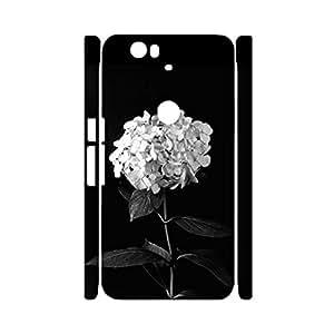 3D Protective Shell Classical Elegant Flower Mark Phone Case for Google Nexus 6P