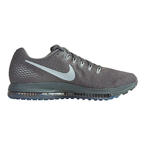 Nike Mens All Out Scarpe Da Corsa Basse Grigio Scuro / Grigio Lupo-platino Puro